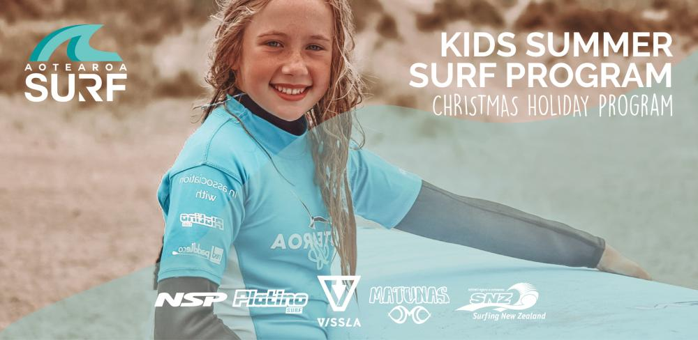 Kids Summer Surf Program (Christmas Holidays)
