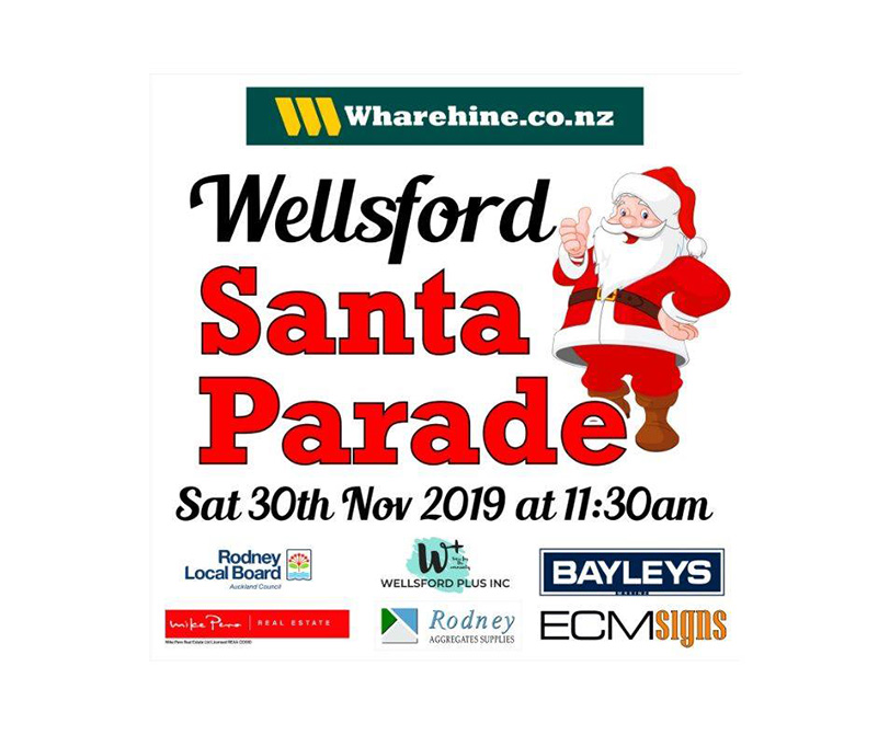 Wellsford Santa Parade 2019