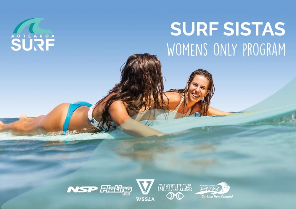 Surf Sistas (Women's Only Surf Group) Program 5 (Mondays)
