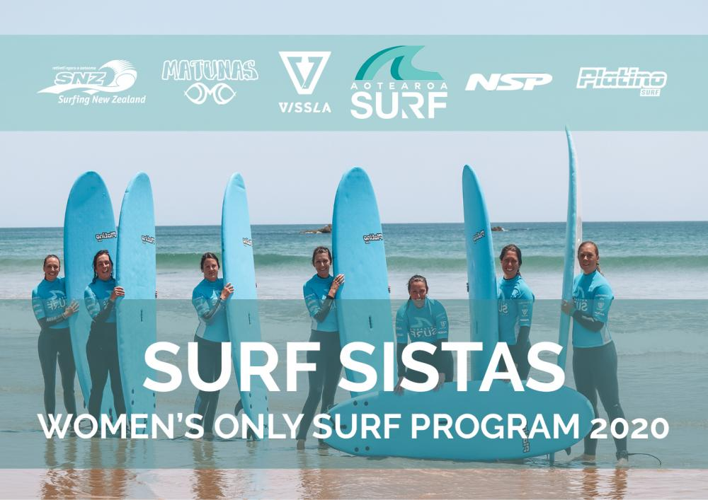 Surf Sistas 2020 - A Women's Only Surf Club (Mon & Sat)