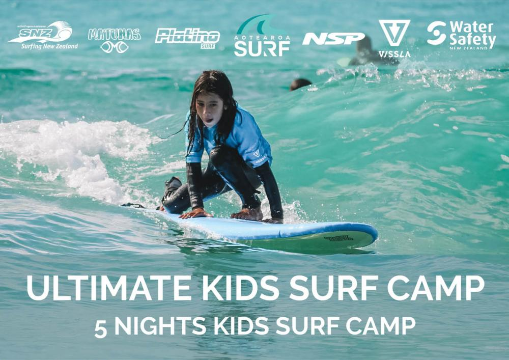 The Ultimate Kids Surf Camp