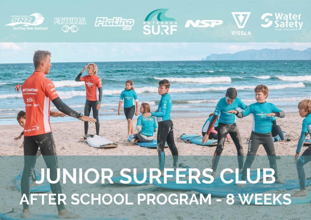 Junior Surfers Club - After School Surfing
