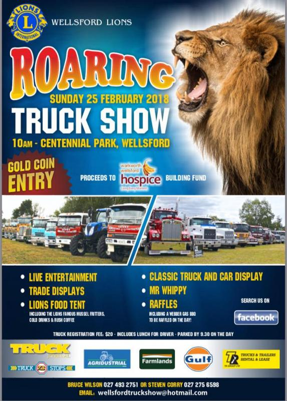 Wellsford Lions Roaring Truck Show