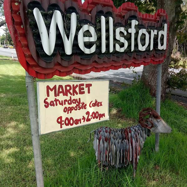 Wellsford market day is the first Saturday of every month