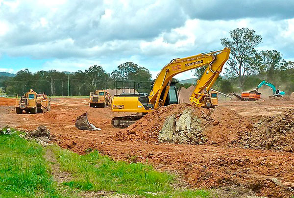 Earthworks and drainage