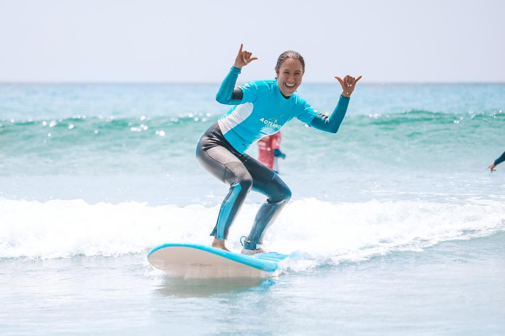 Women's Surf, Yoga & Wellness Day