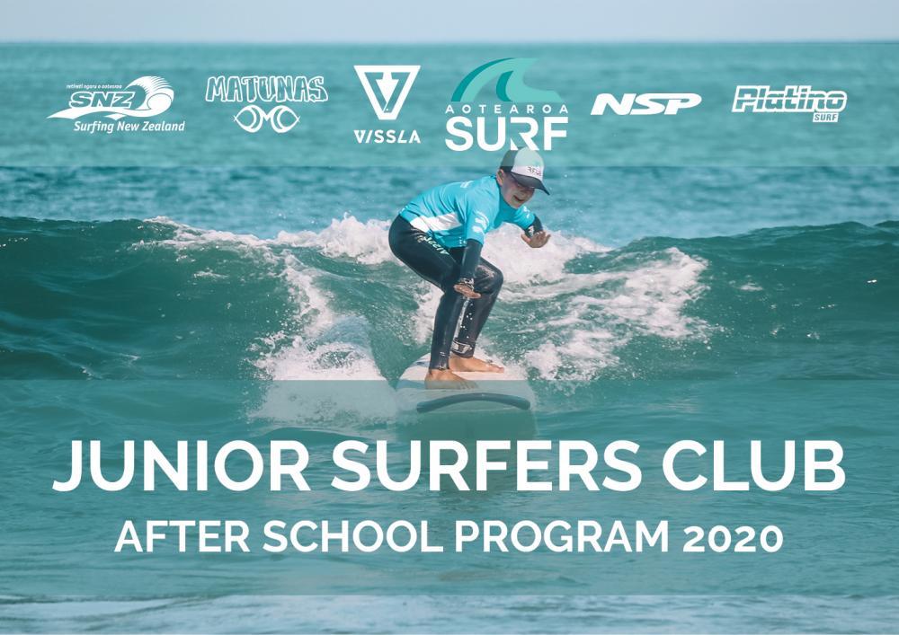 Junior Surfers Club 2020 After School Program (Mon & Wed)