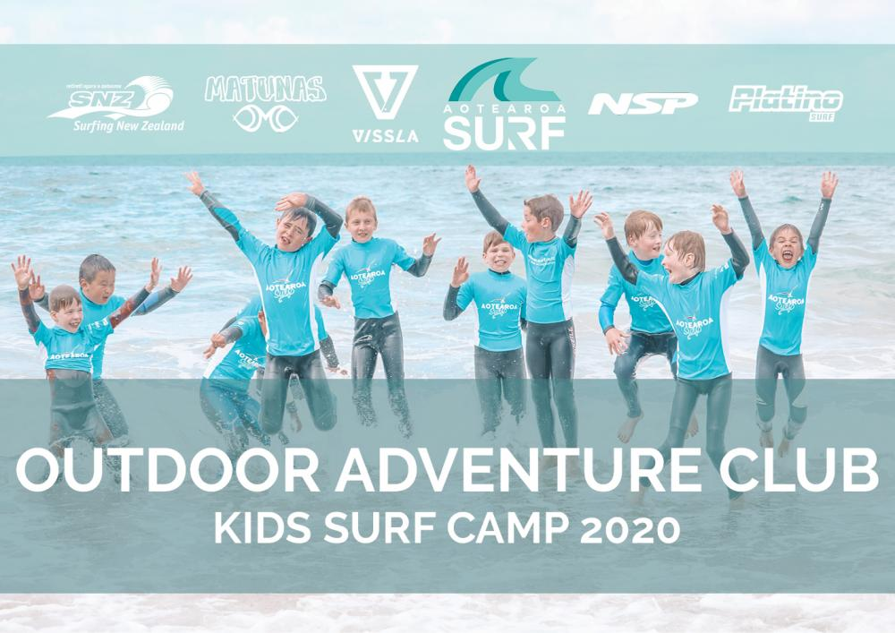 Outdoor Adventure Club (Ages 5-16) Surf Camp