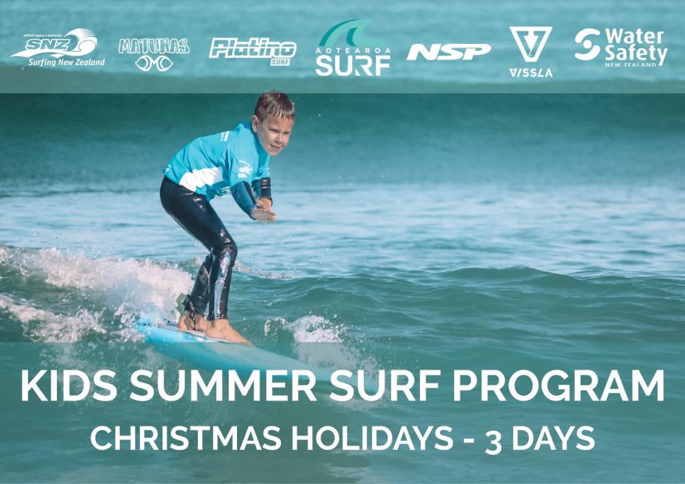 Kids Summer Surf Camp - School Holiday Program
