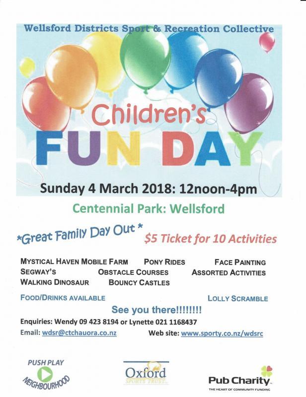 Children S Fun Day Visit Wellsford
