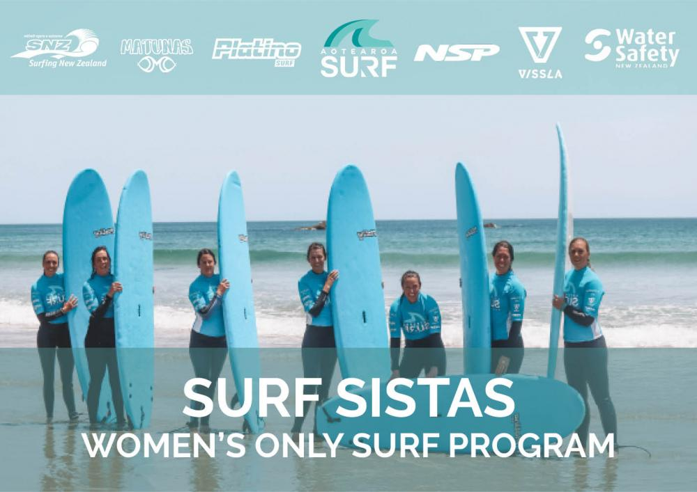 Surf Sistas - Women's Only Surf Club